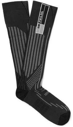 Prada Jacquard-Knit Socks