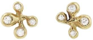 Ten Thousand Things Diamond Pavé Molten Cluster Stud Earrings