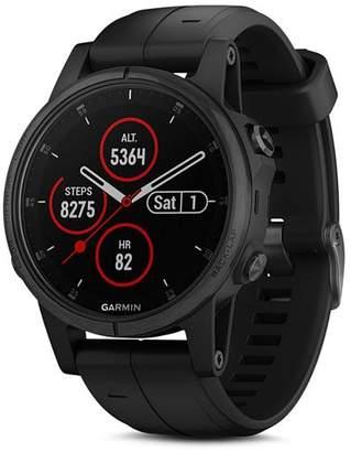 Garmin Fenix 5S Plus Multi-Sport Black GPS Watch, 42mm