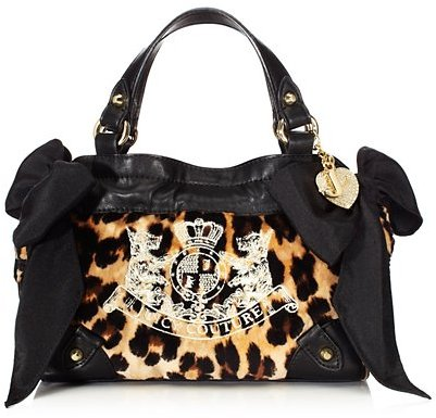 Juicy Couture Girls Velour Mini Daydreamer Bag