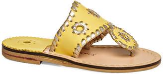 Jack Rogers Miss Palm Beach Platinum Sandal