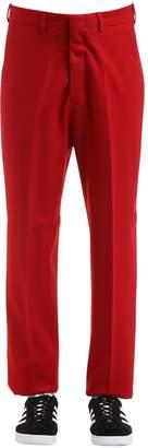 20cm Oversized Wool Gabardine Pants