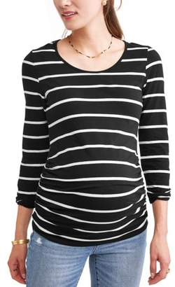 Oh! Mamma Maternity Long Sleeve Top - Available in Plus Sizes
