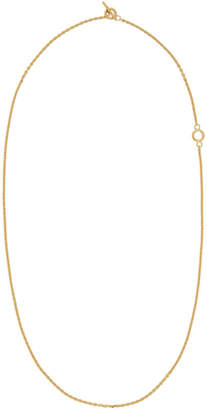 All Blues Gold String Necklace