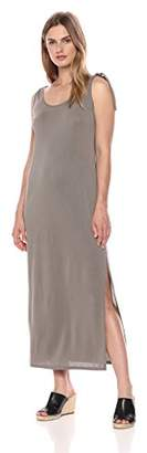 BCBGMAXAZRIA Azria Women's Maxi Dress with Should Ties