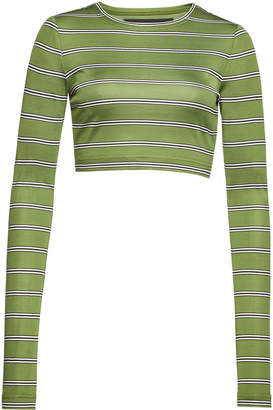 Marc Jacobs Striped Cropped Top