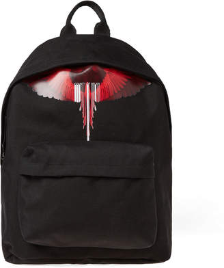 Marcelo Burlon County of Milan Wings Barcode Logo Backpack