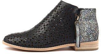 Django & Juliette New Alex Navy Pastel Leather Navy Pastel Mul Womens Shoes