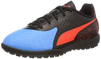 620843980d3 Puma Kids One 19.4 Tt Jr Football Shoes Blue (Bleu Azur-Red Blast Black