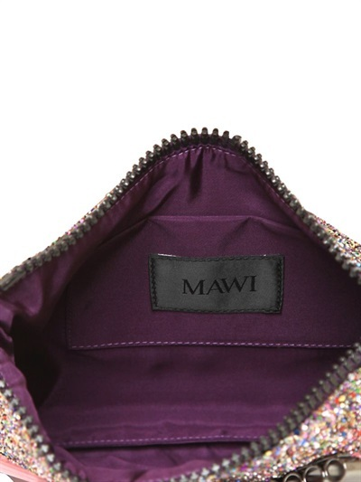 Mawi Glitter With Crystal Pouch