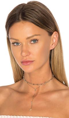 Ettika Moon Lariat Choker in Metallic Gold. $45 thestylecure.com