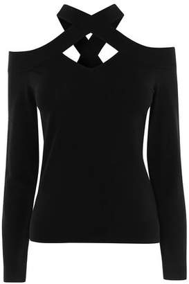 Karen Millen Cross Shoulder Jumper
