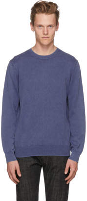 A.P.C. Blue Knit Berry Sweater