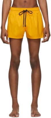 Vilebrequin Yellow Solid Man Swim Shorts