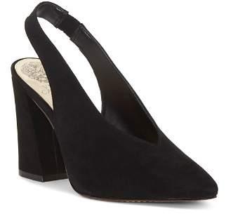 Vince Camuto Women's Tashinta Pointed-Toe Block High-Heel Pumps