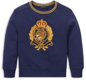 Ralph Lauren Little Boy's Novel Sweatshirt
