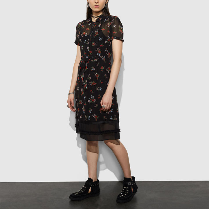 Coach   COACH Coach Shirtdress