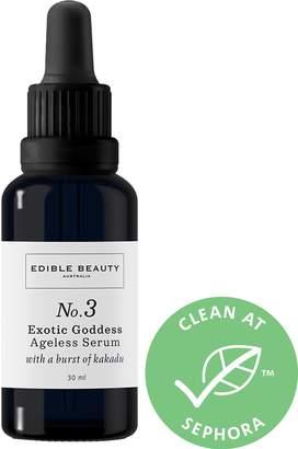 Edible Beauty - No. 3 Exotic Goddess Ageless Serum