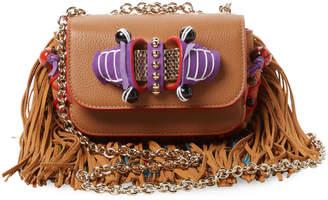 Christian Louboutin Women's Sweet Charity Leather Crossbody Bag