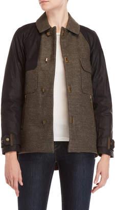 Sorel Wool Raglan Sleeve Down Jacket