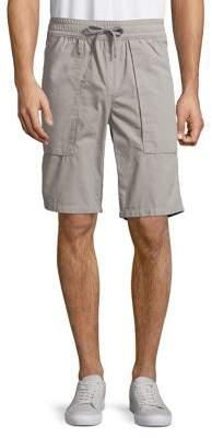 Calvin Klein Jeans Poplin Utility Cotton Shorts