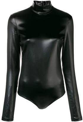 Givenchy coated jersey bodysuit
