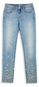 7 For All Mankind Little Girl's & Girl's The Skinny Pant Jeans