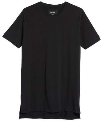 Zanerobe 'Flintlock' Longline Crewneck T-Shirt
