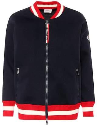 Moncler Jersey bomber jacket