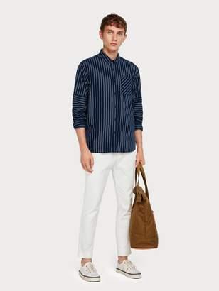Scotch & Soda Rolled-Up Sleeve Shirt Regular fit