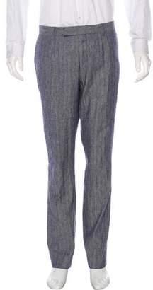 Billy Reid Linen-Blend Pants