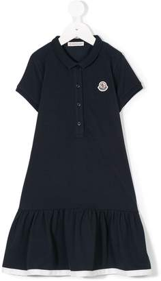 Moncler flared polo dress