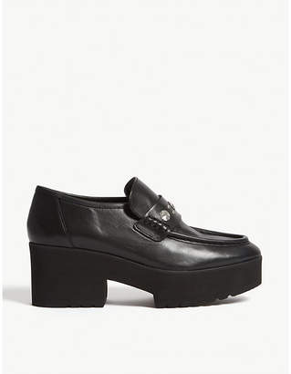 Maje Ballerinas leather loafers