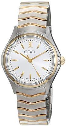 Ebel Womens Quartz Watch, Analogue Classic Display and Stainless Steel Strap 1216195