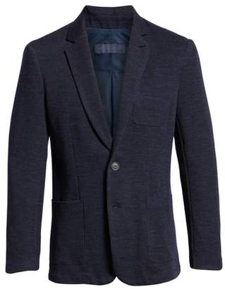 Zachary Prell Granite Regular Fit Knit Sport Coat