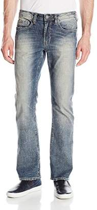 Buffalo David Bitton Men's King Slim Boot Cut Stretch Denim Fashion Jean