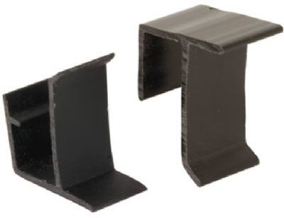 PRIME LINE PRODUCTS - 8-Pack Black Vinyl Window Screen Retainer Clips