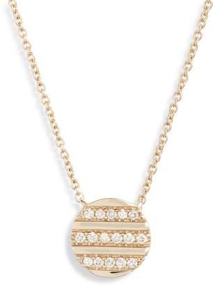 Dana Rebecca Designs Reese Brooklyn Diamond Stripe Pendant Necklace