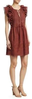 Sea Lace Tunic Dress