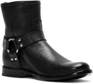 Frye Phillip Harness Short Leather Boots