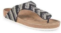 Sam Edelman Olivie 6 Beaded Thong Sandals