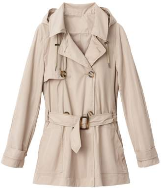 La Redoute Collections Hooded Trench Coat