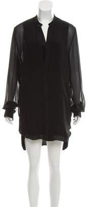 3.1 Phillip Lim Long Sleeve Silk Dress