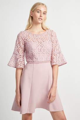 Fcus Whisper Ruth Lace Mix Dress