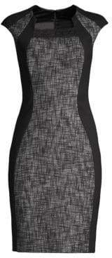 Elie Tahari Aiden Tailored Sheath Dress