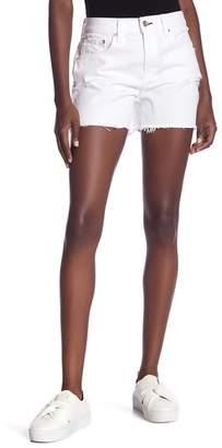 Rag & Bone Distressed Raw Hem Boy Shorts