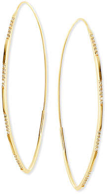 Lana 14K Large Expose Magic Hoop Earrings with Diamonds