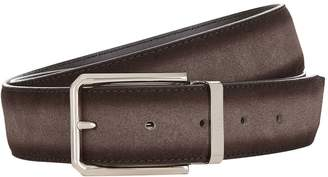 Canali Leather-SuedeReversible Belt