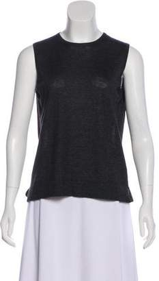 Loro Piana Cashmere & Silk Sleeveless Top