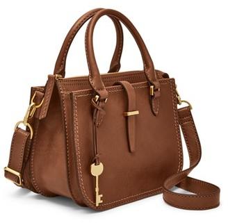 Fossil Ryder Mini Satchel Handbags Black